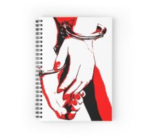 BDSM love - cuffed Spiral Notebook