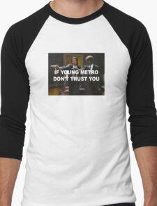 Young Metro - Pulp Fiction Men's Baseball ¾ T-Shirt