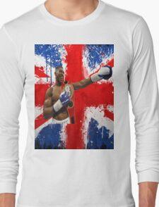 Anthony Joshua British Boxing World Champion  Long Sleeve T-Shirt