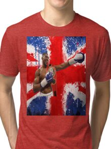 Anthony Joshua British Boxing World Champion  Tri-blend T-Shirt