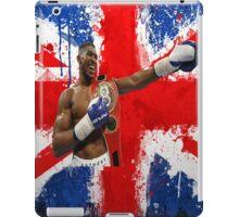 Anthony Joshua British Boxing World Champion  iPad Case/Skin