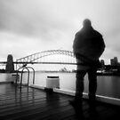 Part but apart - Sydney Australia  by Norman Repacholi