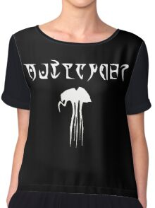 Daedric Print - Outlander with Silt Strider Chiffon Top