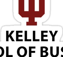 IU Kelly School of Business Sticker Sticker