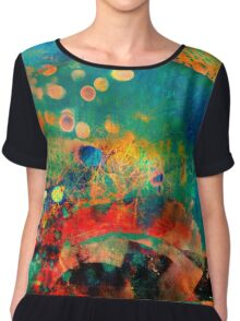 One Art Cell Chiffon Top