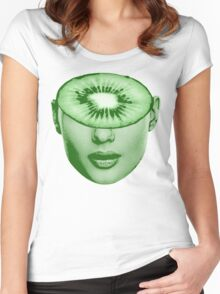 Kiwi-Ed (Kiwi) Women's Fitted Scoop T-Shirt