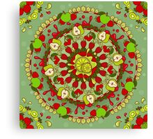 Red Fruit, Green Fruit Canvas Print