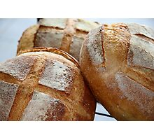 Crusty Loaves Photographic Print