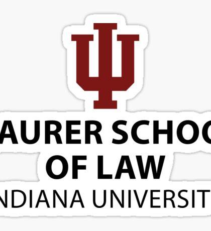 IU Maurer School of Law Sticker Sticker