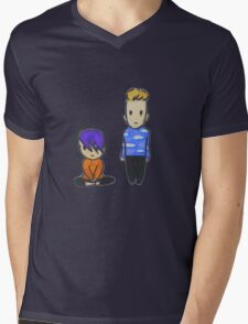 Baby Scomiche Mens V-Neck T-Shirt
