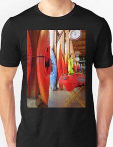 Red Kayaks Unisex T-Shirt