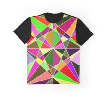 Warm Geometric Colours  Graphic T-Shirt