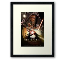 The Old Republic - Rise of an Empire Framed Print