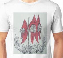 Sturt Desert Pea Australian Tangled Wild Flower Unisex T-Shirt