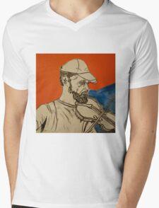 musician Mens V-Neck T-Shirt