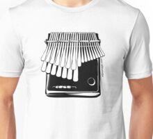 Mbira Woodcut Unisex T-Shirt