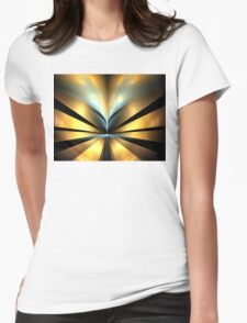 Bronze Shores Womens Fitted T-Shirt