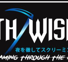 Death Wish JDM Slap Blue Sticker