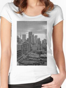 Toronto Screen Scene Women's Fitted Scoop T-Shirt