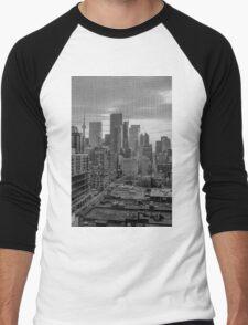 Toronto Screen Scene Men's Baseball ¾ T-Shirt