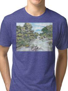 uMfolozi river Tri-blend T-Shirt