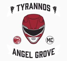 Angel Grove Motorcycle Club (Tyrannos) One Piece - Short Sleeve