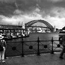 Time to split - Sydney Australia by Norman Repacholi