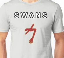 SWANS - THE GLOWING MAN w/text Unisex T-Shirt