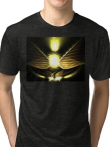 Candle Wings Tri-blend T-Shirt