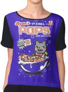 Nyans Pixel Pops Chiffon Top