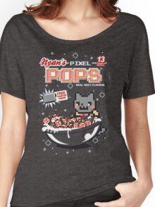 Nyans Pixel Pops Women's Relaxed Fit T-Shirt