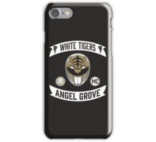 Angel Grove Motorcycle Club (White Tigers) iPhone Case/Skin