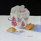 Fortune Cookies and Rice by Pamela Burger
