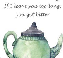 Bitter Mom Teapot Sticker