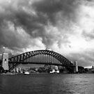Creeping Storm - Sydney Australia by Norman Repacholi