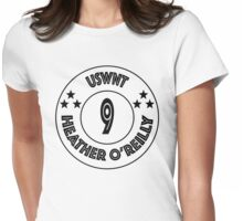 USWNT Heather O'Reilly in black logo Womens Fitted T-Shirt
