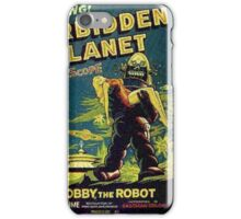 Vintage Sci-fi Movie Forbidden Planet, Robot iPhone Case/Skin