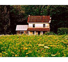 Abandoned Farm Photographic Print