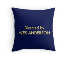 homage to Wes Throw Pillow
