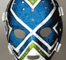 Vintage Sports Hockey Goalie Mask #8 Sticker