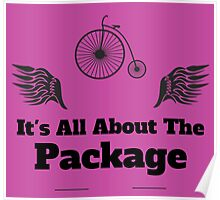 Its All About The Package Poster