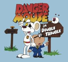 Danger Mouse Trouble Baby Tee