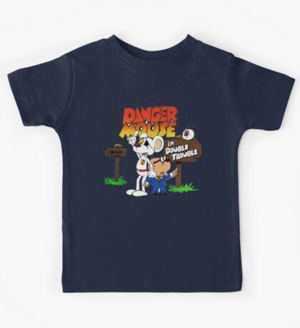 Danger Mouse Trouble Kids Tee