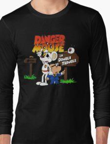 Danger Mouse Trouble Long Sleeve T-Shirt