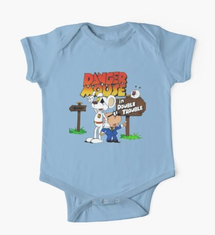 Danger Mouse Trouble One Piece - Short Sleeve