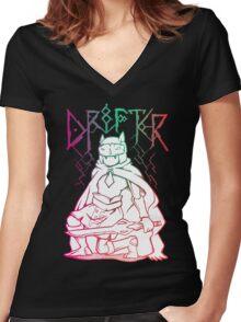 Hyper Light Drifter  Women's Fitted V-Neck T-Shirt