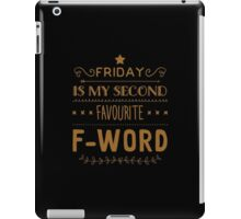 Friday iPad Case/Skin