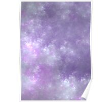 Soft Clouds - Fractal Painting Poster