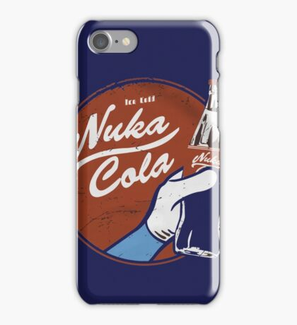 Ice Cold Nuka Cola iPhone Case/Skin