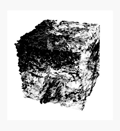 Land Cube Photographic Print